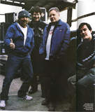 New Order posing for Q Magazine